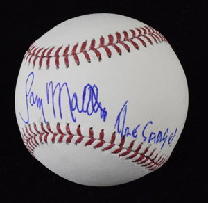 Gary%20Matthews%20Signed%20Baseball%20Inscribed%20%22The%20Sarge%22