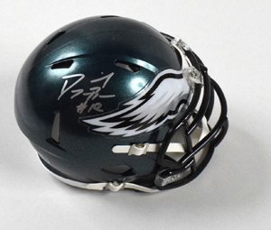 Dorial%20Green%2DBeckham%20Signed%20Philadelphia%20Eagles%20Mini%20Helmet