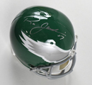 "Ron Jaworski Signed Full Size Replica ""Throwback"" Philadelphia Eagles Helmet"