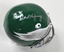 Wilbert Montgomery Signed Full Size Philadelphia Eagles Replica Helmet