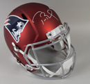 Tom Brady Signed New England Patriots Blaze Revolution Speed Full-Size Replica Helmet