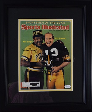 %2AWillie%20Stargell%20Signed%20Sports%20Illustrated%20%28framed%29