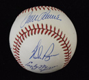 *300 Win Club Signed Baseball