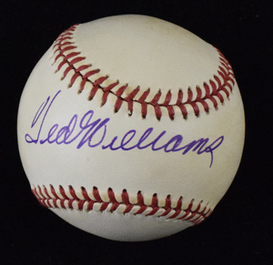 Ted%20Williams%20Signed%20Baseball