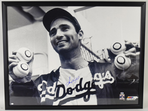 %2AHuge%20Sandy%20Koufax%20Signed%20Photograph%20%28framed%29