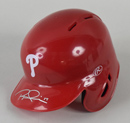Rhys Hoskins Signed Philadelphia Phillies Mini Batting Helmet