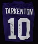 "Fran Tarkenton Signed NFL ""ProLine Vintage"" Minnesota Vikings Jersey"