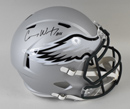 Carson Wentz Signed Philadelphia Eagles Blaze Revolution Speed Full-Size Replica Helmet