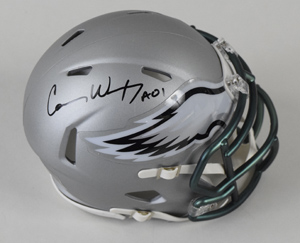 Carson%20Wentz%20Signed%20Philadelphia%20Eagles%20Blaze%20Revolution%20Speed%20Mini%20Helmet