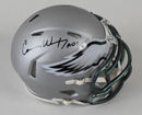 Carson Wentz Signed Philadelphia Eagles Blaze Revolution Speed Mini Helmet